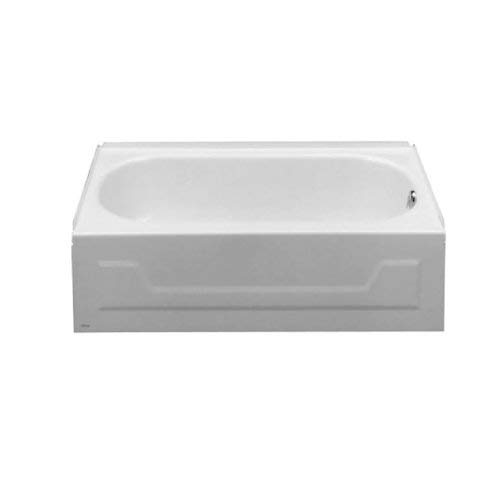 American Standards 0138.014.020 Mackenzie 4-1/2-Feet Recess Bath Tub with Right-Hand Drain, White from American Standards.Inc.