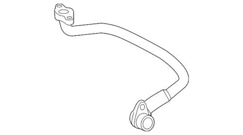Genuine Mercedes-Benz Feed Line 275-090-25-77 by Mercedes Benz (Image #1)