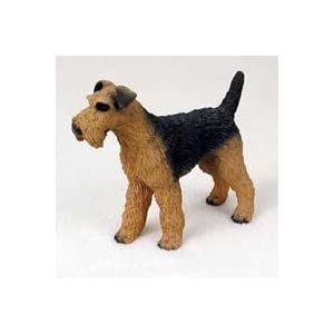 Airedale Terrier Dog Figurine 8