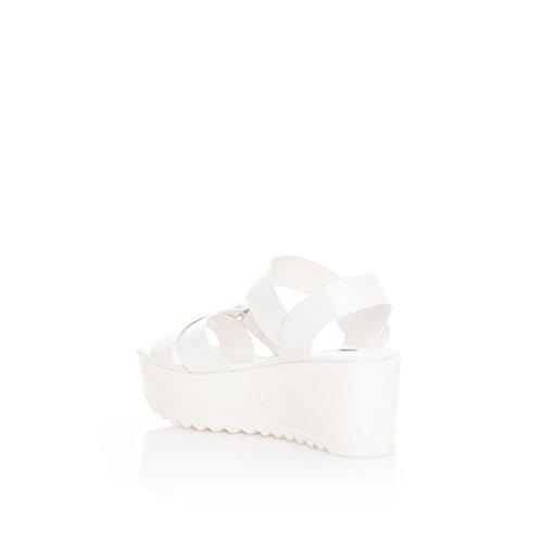 Femme MTNG Blanco Blanc 53613 Brush Sandales Blanco Brush cxwyC18vqa