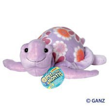 Webkinz Pet of the Month of August Blossom Sea Turtle Interactive Plush Toy - 8.5