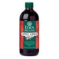Apple Cider Vinegar 16 Ounces (Case of 3) (Apple Cider Vinegar Eden)