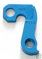 - Pilo D20 Blue Derailleur Hanger - Fits: Ellsworth, Merlin