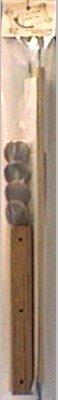 American Dream Oak E-Z Stitch Frame, 18-Inch (Ez Stitch Rods Scroll)
