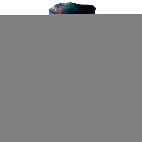 QJH Star Wolf-Galaxy Print Sweatshirt Unisex Realistic 3D Digital Hooded Hoodie