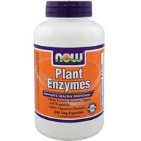 Plant Enzyme, 240 Vcaps by Now Foods (Pack of 4) (Now Foods Plant Enzymes)