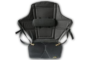 Skwoosh Expedition Kayak Seat (20) with Lumbar Support and Air-Flo3D Gel Cushion