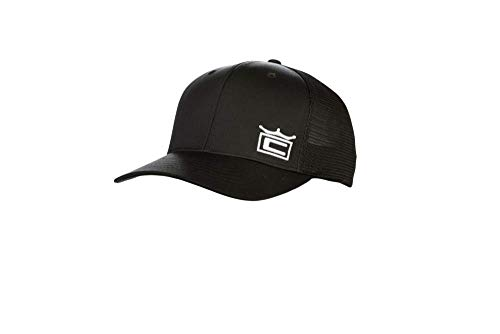 Cobra Golf 2019 Crown Trucker Snapback Hat (Black)