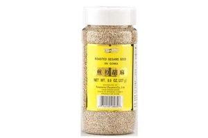 Roasted White Sesame Seeds (Iri Goma) 8 Oz by Shirakiku (8 ounce)
