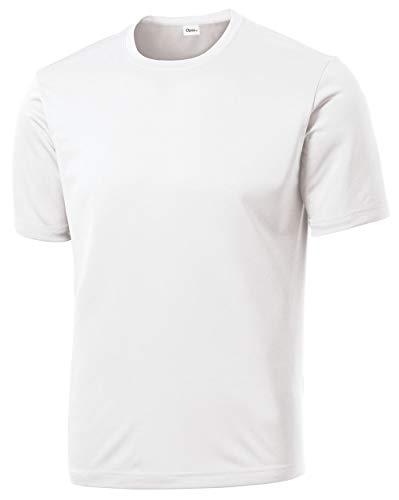 Regular Fit Tee - Opna Men's Big & Tall Short Sleeve Moisture Wicking Athletic T-Shirts Regular Sizes & XLT's