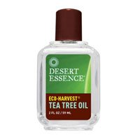 2 Packs of Desert Essence Eco-harvest Tea Tree Oil - 1 Fl (Tea Tree Oil Eco Harvest)