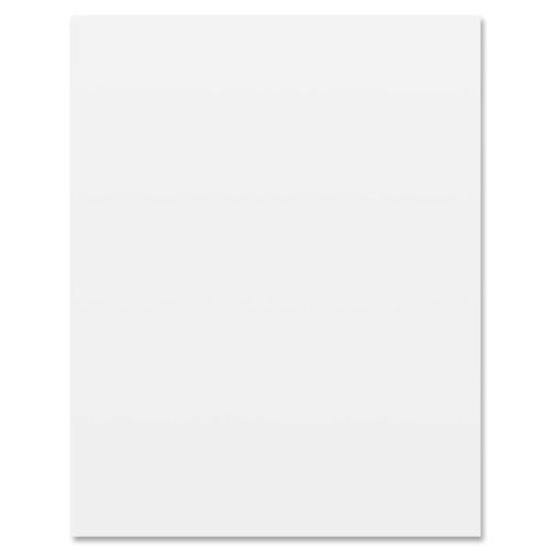Riverside Paper 104225 White Poster Board, 22 x 28, 100 Sheets/Carton
