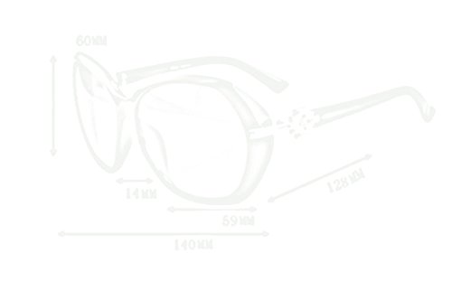 B de gafas de B gafas Color de mujeres gafas Gafas sol sol QQB de las sol w6XxqEdqUf