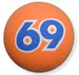 Happy Balls Union 69 Ball Antenna Topper