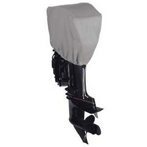 Dallas Manufacturing Co. Motor Hood Polyester Cover 1 - 2.5 hp - 10 hp 4 Strokes Or 2 Strokes Up To 25 hp