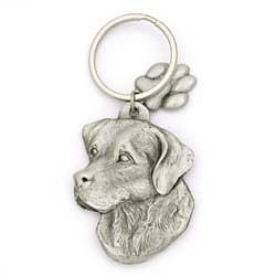 Black Lab Keychain