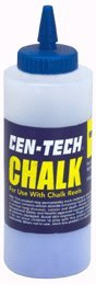 Visibility Marking Chalk (8 Oz. Blue Marking Chalk High Visibility for Wood, Concrete, Wallboard and Metal)