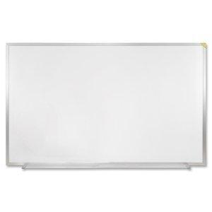 Ghent M1-34-4 3 ft. x 4 ft. Magnetic Dry Erase Markerboard Aluminum Frame