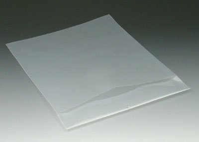 9-1/4'' x 12'' Polyethylene Routing Envelope w/Slit Opening and Hang Hole - Clear (6 mil) (500 Envelopes/Case) - AB-58-201C by Miller Supply Inc.