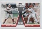Rogers Hornsby; Matt Holliday (Baseball Card) 2011 Topps - Diamond Duos Series 1 #DD-HHO