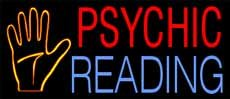 Psychic Reading Neon Sign 13 x - Sign X Neon 30 13
