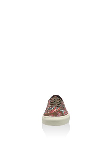 Olive Men's Authentic 5 Unisex Adult Vans 6 Size Women's CA Sneakers Paisley 5 qSdwxtz