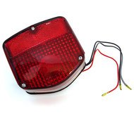 4into1 Reproduction Tail Light Assembly - 33701-126-721 - Compatible with Honda C70 CT70 CT90 CT110 CB125S CM200T CM400T