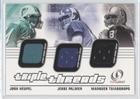 Josh Heupel; Jesse Palmer; Marques Tuiasosopo (Football Card) 2001 Fleer Legacy - Triple Threads ()