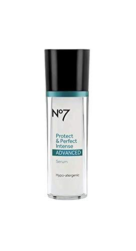 (Boots No7 Protect & Perfect Intense Advanced Serum Bottle 1 fl oz 1oz 30 ml)