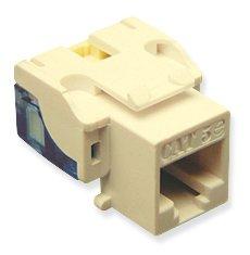 IC107E5CIV - 25PK Cat5 Jack - Ivory