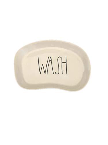 (Rae Dunn WASH Plate)