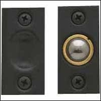 Baldwin 0425402 Adjustable Ball Catch, Distressed Oil Rubbed Bronze