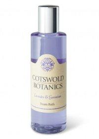 Cotswold Botanics Lavender & Geranium Foam Bath Cotswold Lavender