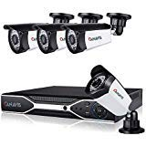 1080P Simplified POE Security Camera System 8 CH NVR with 4Pcs HD Outdoor Indoor Network IP Surveillance Cameras Night Vision, Remote View, Motion Detection (No Hard Drive)