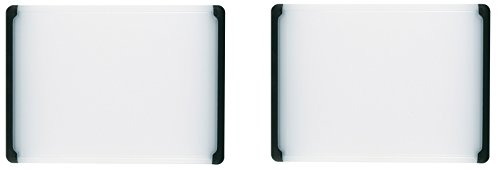 OXO Good Grips Utility Cutting Board,10-1/2-Inch x 14-1/2-Inch, 2-Pack,