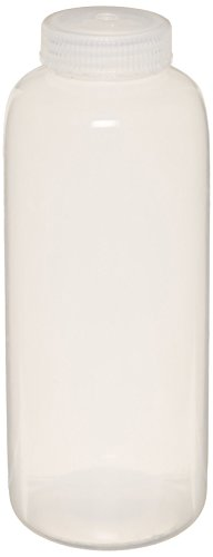 United Scientific 33310 Polypropylene Wide Mouth Reagent Bottles, 1000ml Capacity (Pack of (Mouth Reagent Bottles)