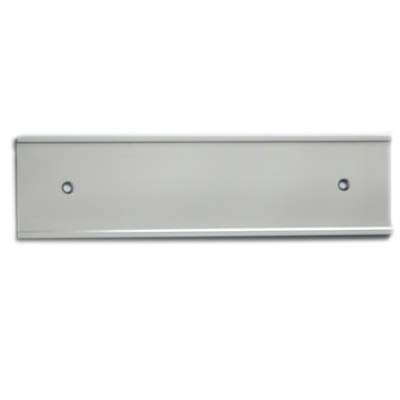 NamePlate Holder, Wall or Door, Silver 2x10 (Name Wall 2x10 Plate Holders)