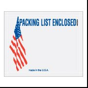 Usa Packing Flag (4 1/2