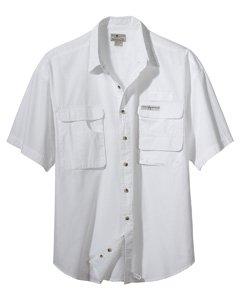 Hook & Tackle® Gulfstream Short Sleeve Large White
