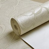 Fence Newspaper - Multicolor Modern Flower Textured Wallpaper Simple Embossed - Pary Rampart Publisher Bulwark Composition Surround Palisade Report - 1PCs