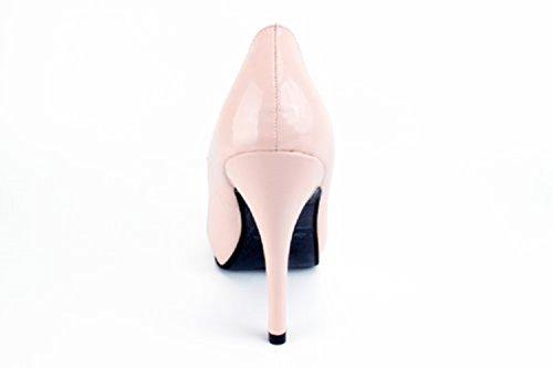 Las Tacon ESAM239 la de Todas a y Machado 46 Andres de Fiesta Fino para Pink Mujeres 32 rosa Salon la Patent Tallas PYfTx