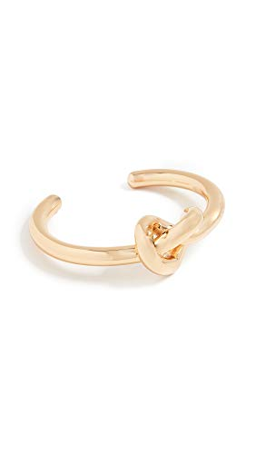 Kate Spade New York Women's Loves Me Knot Cuff Bracelet, Gold, One Size