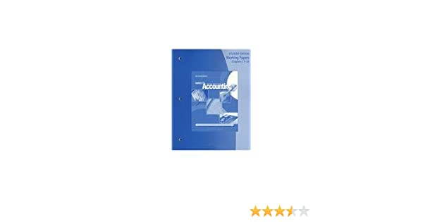 Amazon working papers chapters 17 24 for gilbertsonlehmans amazon working papers chapters 17 24 for gilbertsonlehmans century 21 accounting multicolumn journal 9th 9780538447102 claudia b gilbertson fandeluxe Image collections