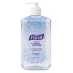 Hand Sanitizer, 20oz Pump Bottle, 12/Carton