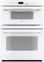 """PT7800DHWW 30″"""" Built-In Convection Microwave/Wall Oven with 6.7 cu. ft. Capacity 16″"""" Turntable Self-Clean with Steam Clean Option Glass Touch Controls and Self-Clean Heavy-Duty Roller Rack in White"""
