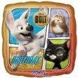 "Disneys Bolt Happy Birthday 18"" Square Mylar Balloon"