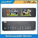 Lilliput RM-7028S 3RU Rack Monitors With dual 7