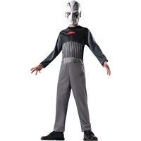 Star Wars Homemade Costumes Kids (childrens inquisitor costume 2 piece mask and jump suit disney star wars fits sizes 8-10)