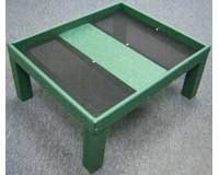 Ground Platform Feeder Green ()