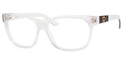gucci-gg3543-eyeglasses-05l0-crystal-white-red-green-55mm